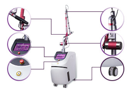 High Power Tattoo Removal Machine US412A
