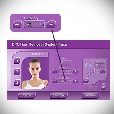 SHR Hair Removal Dpl Skin Care Beauty Machine US002F