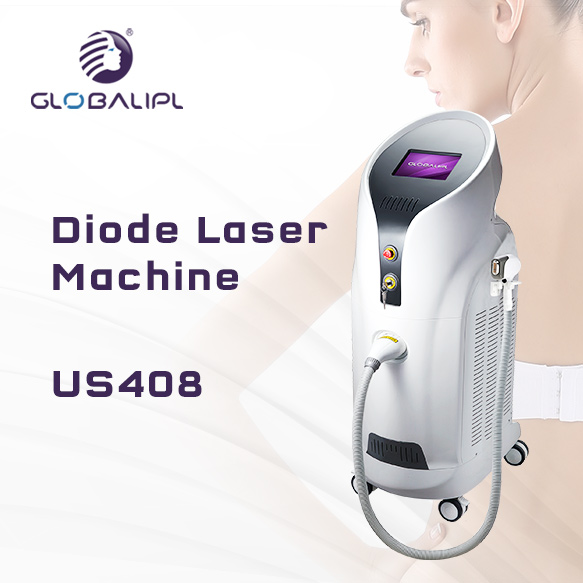 3500W Alexandrite Diode Laser Hair Removal Machine US408