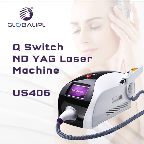 1600MJ Q Switch Nd Yag Laser Machine US406