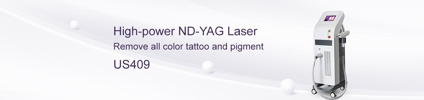 Nd Yag Laser Pigment Therapy Machine US409