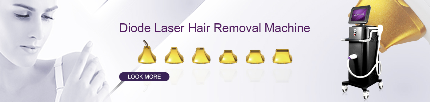 High power diode laser hair removal machine