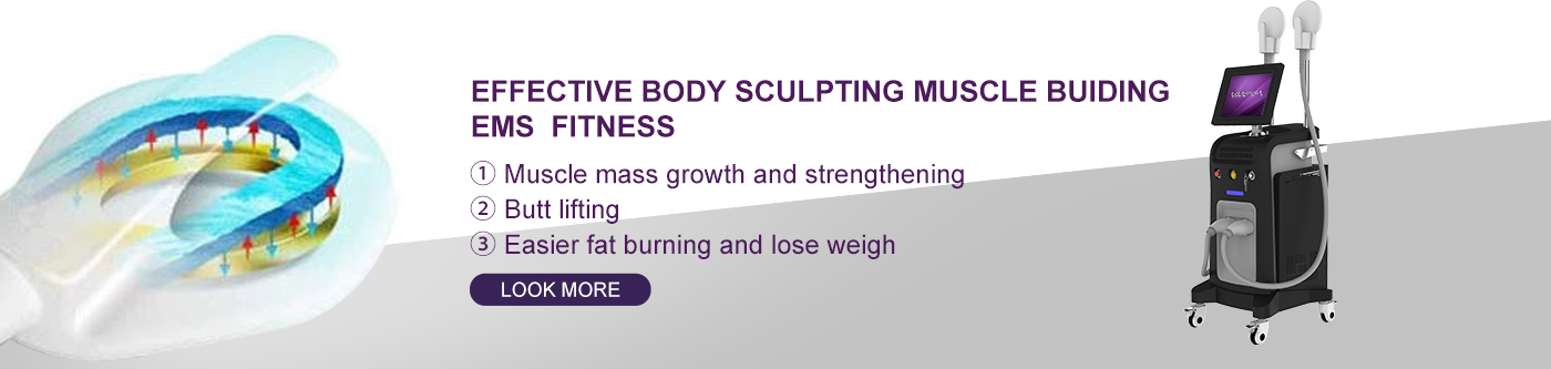 Hi emt Technology Muscle Building Equipment Body Sculpting Machine US380B