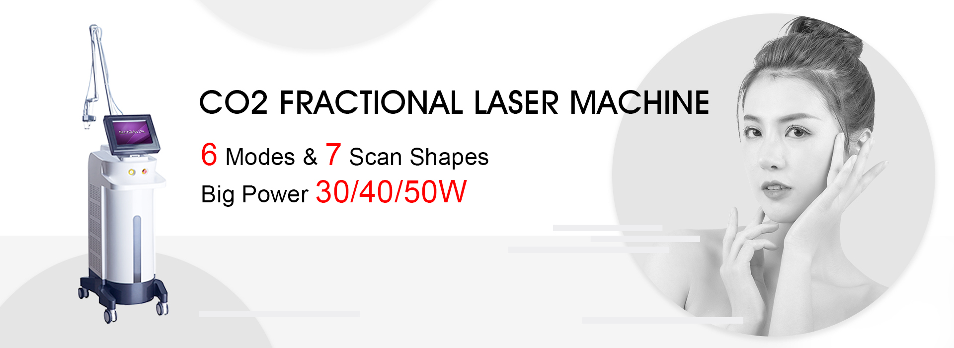 Fractional Laser Acne Removal Machine