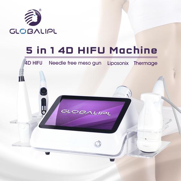 Body Slimming Machine Liposonixed 4DHifu Thermagic US310C-2