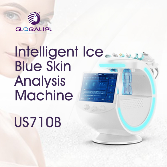 Portable Hydra Dermabrasion Oxygen Facial Beauty Machine US710B